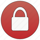 close, insecure, disable, secure, lock icon