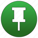 feature, highlight, pin, tack icon