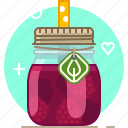 drink, fruit, health, raspberry, smoothie, vitamins, yumminky icon
