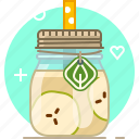 apple, drink, fruit, health, smoothie, vitamins