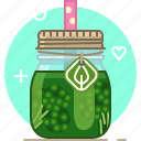 broccoli, drink, health, smoothie, vegetable, vitamins, yumminky icon