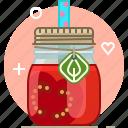 drink, health, smoothie, tomato, vegetable, vitamins, yumminky icon