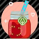 tomato, vitamins, smoothie, drink, health, vegetable icon