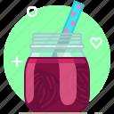 beetroot, drink, health, smoothie, vegetable, vitamins, yumminky icon