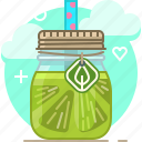 drink, fit, fruit, lime, smoothie, vitamins, yumminky icon