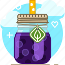 drink, fit, fruit, grappe, smoothie, vitamins, yumminky icon