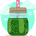 broccoli, drink, fit, smoothie, vegetable, vitamins, yumminky icon