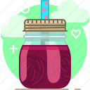 beetroot, drink, fit, smoothie, vegetable, vitamins, yumminky icon