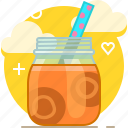 carrot, drink, fit, smoothie, vegetable, vitamins, yumminky icon