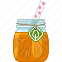 drink, fruit, health, orange, smoothie, vitamins, yumminky icon