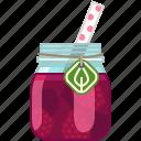 drink, fruit, health, raspberry, smoothie, vitamins, yumminky icon