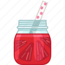 drink, fruit, grapefruit, health, smoothie, vitamins, yumminky icon