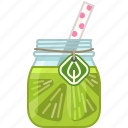 drink, fruit, health, lime, smoothie, vitamins, yumminky icon