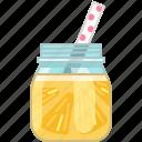 drink, grapefruit, lemon, pineapple, smoothie, vitamins