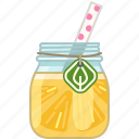 drink, grapefruit, lemon, pineapple, smoothie, vitamins, yumminky icon