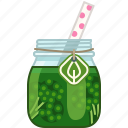 broccoli, drink, health, smoothie, vegetable, vitamins, yumminky icon