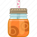 carrot, drink, health, smoothie, vegetable, vitamins, yumminky icon