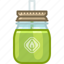 cup, drink, glass, lid, make, smoothie, yumminky icon