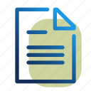 doc, document, office, text, word, file, format icon