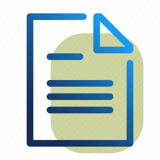 Doc, document, office, text, word, file, format icon - Download on Iconfinder