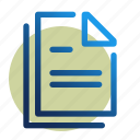 doc, document, office, text, word icon