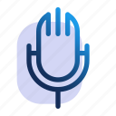 audio, mic, microphone, podcast, song icon