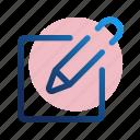 biro, edit, note, pencil, settings, options, pen
