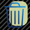can, delete, trash, trashcan, cancel, close, remove