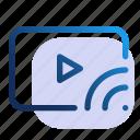 cast, movie, transmission, video, film, media, player