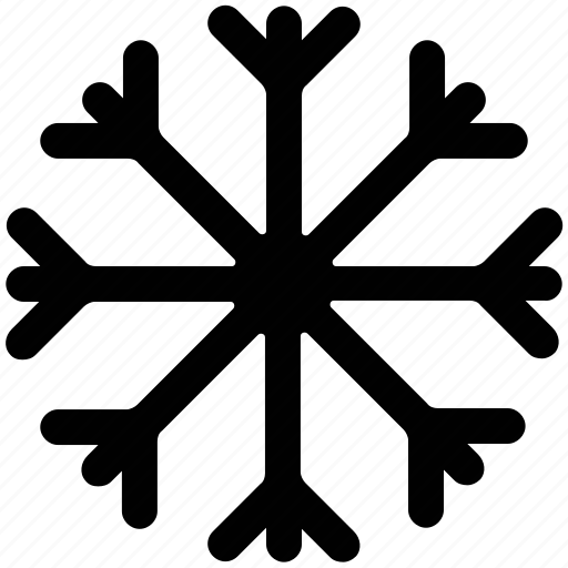 sleet, snow, snow crystal, snowflake icon