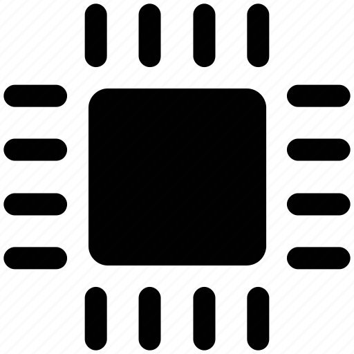 chip, cpu, microchip, processor icon