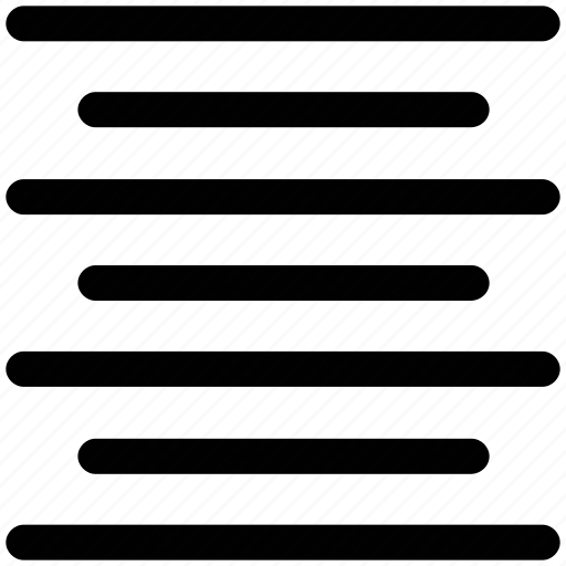 align, center, center alignment, paragraph center alignment icon
