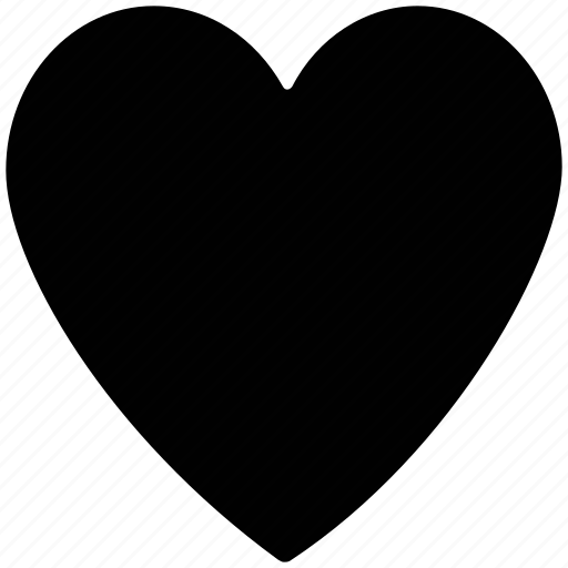 Heart, love, shape, plain heart icon - Download on Iconfinder