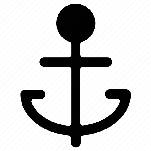 anchor, marine, nautical, sea icon