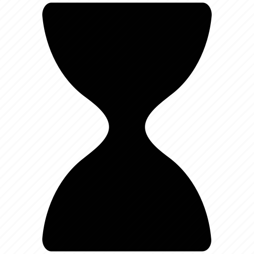 hourglass, sand, time, timer icon