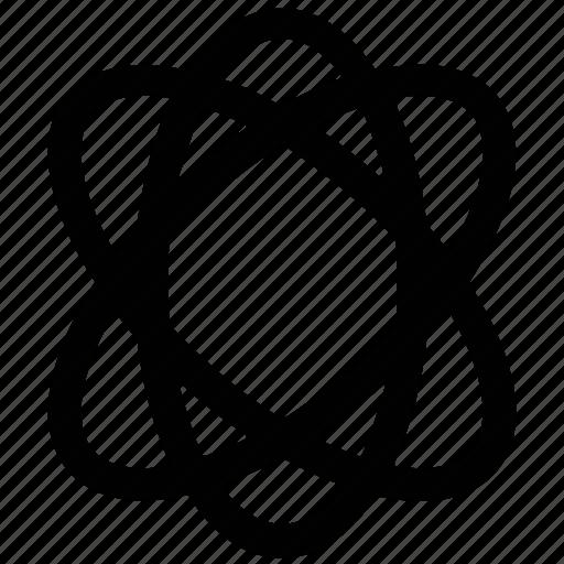 atom, atomic, atomic symbol, structure icon