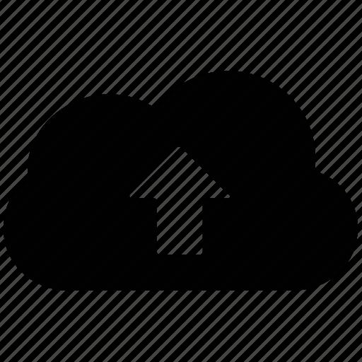 cloud network, up, upload, uploading icon