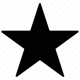 five pointed, mark as favorite, shape, star icon