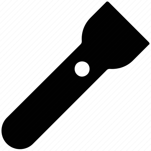 flashlight, light, pocket, torch icon