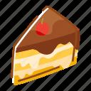 bakery, cake, chocolate, dessert, food, sweet icon