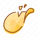 chips, food, fries, snack icon