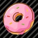 bakery, dessert, donut, food, sweet icon