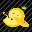 dried, mango, nut, snack icon