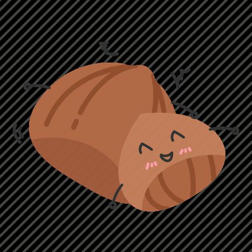 chestnut, nut, snack, sweet icon