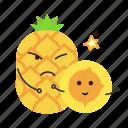 driedpineapple, nut, pineapple, snack icon