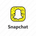 android app, brand, ghost, snapchat icon