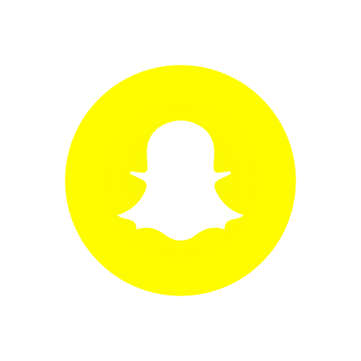 ghost, label, logo, snapchat logo icon