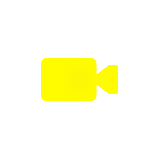 record, snapchat, video, video player icon