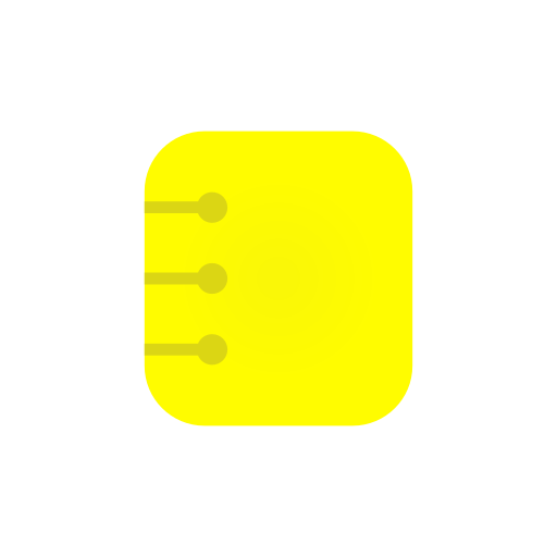 contact list, list, log, notebook icon