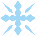 flake, nature, ornament, snow, winter icon